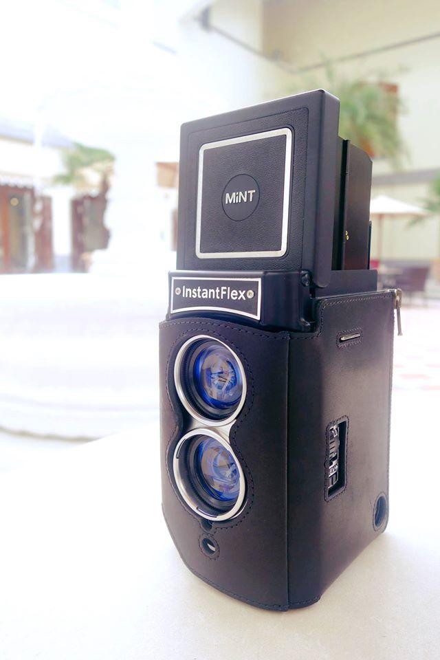 文青味道:雙鏡即影即有相機InstantFlex TL70 2.0