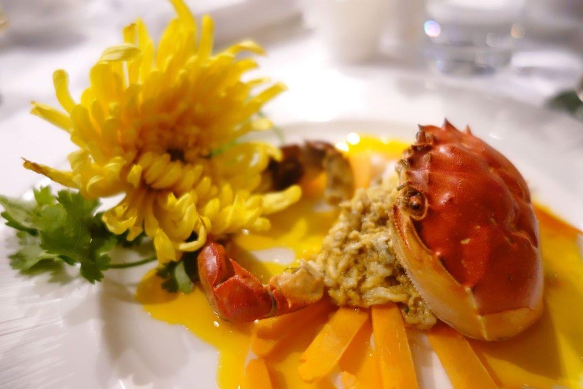 滬港品蟹名所聯乘 兩地師傅攜手製作蟹宴